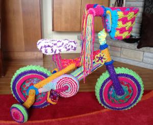 Mikey, Crochet Crowd, Creativ Festival