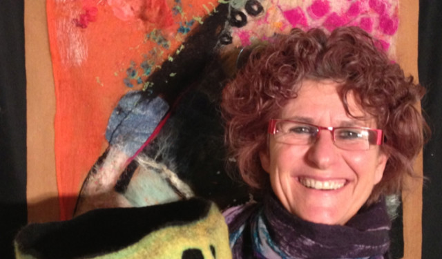Sue Firkser at Creativ Festival