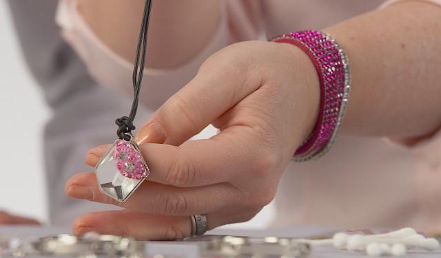jewellery making with Swarovski Elements
