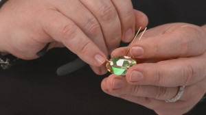 Learn how to put fancy stones into settings