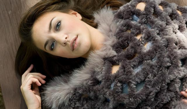 Fur Yarn by Paula Lishman at Creativ Festival