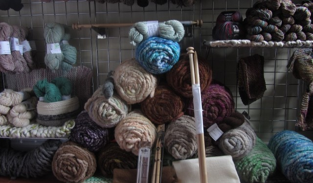 Yarns from Alpaca From Eighth and Mud at Creativ Festival