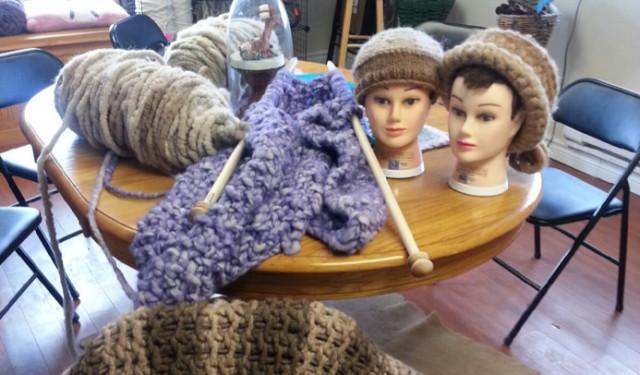 knitting sharon trent