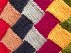 Thompson, Susan - Entrelac Knitting Close-up_700x525